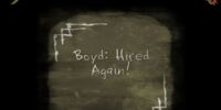 Boyd: Hired Again!