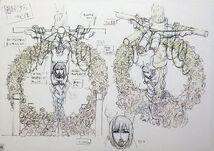 Concept art of Deceased Kuzuhara satsuki