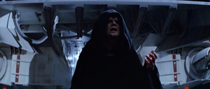 Sidious arrives at Death Star