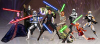 TCW cast of characters