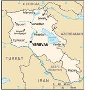 Armenia Map StateDept 07152008