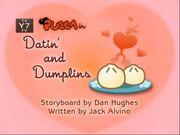 Datin and dumplings