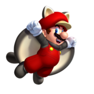 Flying Squirrel Mario NSMBU