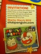 Pufflepartyinvitation