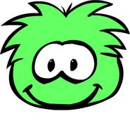 Light-green-puffle