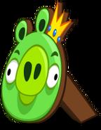 File-Cardboard king pig