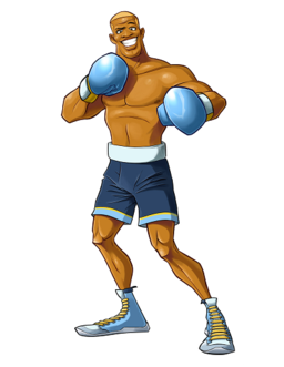 Disco kid punch out wiki fandom powered by wikia for What is a punch out list