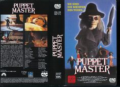 Puppet Master German Cover