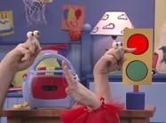 Oobi Uma Grampu Noggin Hand Puppet TV Show