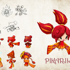 Pikarina Concept Art.