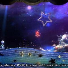 Monkey chase in <a href=