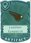 Leather Eyepatch