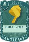 Hemp Turban 3