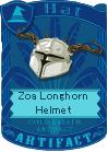 Zoa Longhorn Helmet