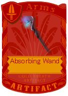Absorbing Wand