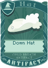 Down hat