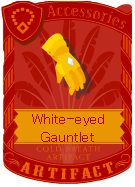 White-eyed Gauntlet