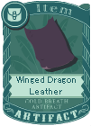 Winged Dragon Leather
