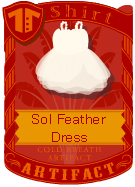 Sol Feather Dress