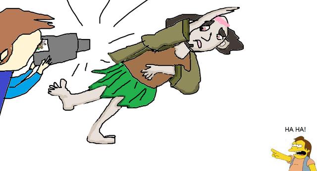 File:HA HA! You're wearing a dress, loser!.png
