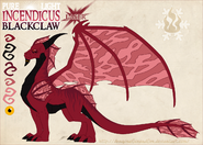 Pure incendicus blackclaw by dragonoficeandfire-d9lryci