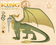 Pure lightking julius warfang by dragonoficeandfire-d9lu7v6