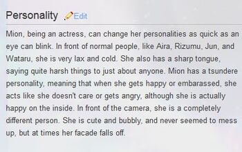 Personality mion
