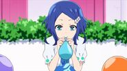 Rinne Blowing a Balloon