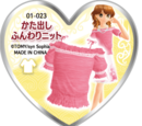Off-Shoulder Fluffy Knit