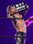 Kenny Omega Tokyo Dome IWGP Heavyweight Championship challenge right certificate