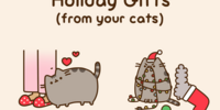Holiday Gifts (from your cats)