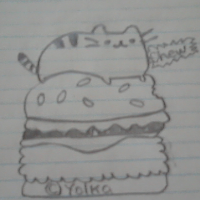 File:Pusheen Drawing.png