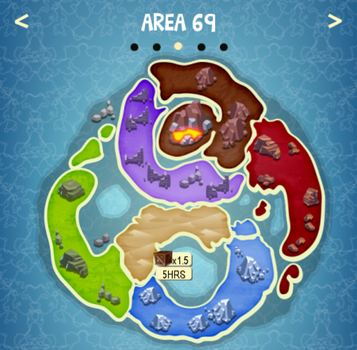AREA 69 map
