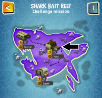 SHARK BAIT REEF (HARD) map