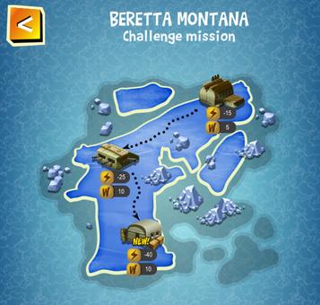 Special Event - BERETTA MONTANA map