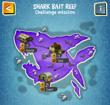 Special Event - SHARK BAIT REEF map