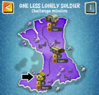 ONE LESS LONELY SOLDIER (MASTER) map