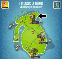 I KISSED A BOMB (HARD) map