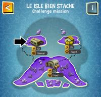 LE ISLE BIEN STACHE (NORMAL) map