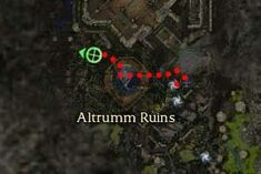 Zarnas Stonewrath map
