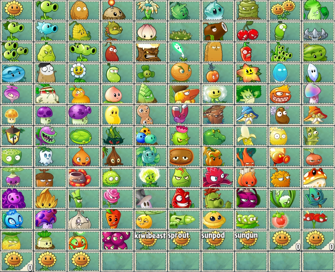 image   all pvz2 and pvz chinese plant seed packets png