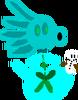 New Plantlanders Snow Pea figure