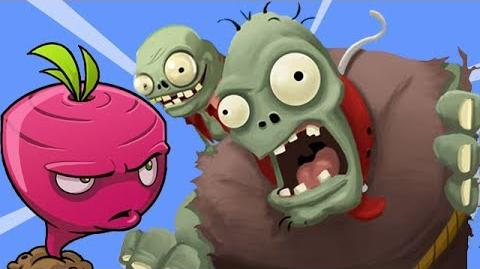 Plants vs Zombies Adventure - Beet In Action New Boss Coming PVZ on Facebook Walkthrough Part 10
