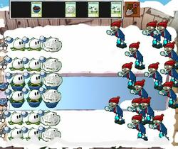 Snowball Fighting!