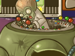 Dr. Zomboss's face when he is defeated.