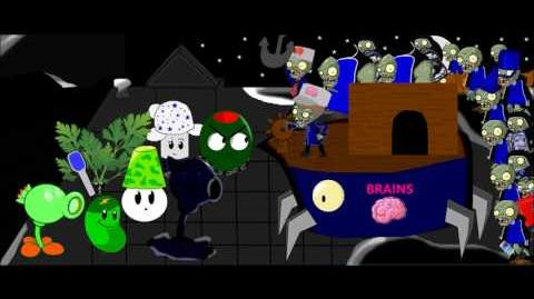 Plants vs Zombies 2 Custom Music - Night Sail Dr. ZomBoss Fight!!