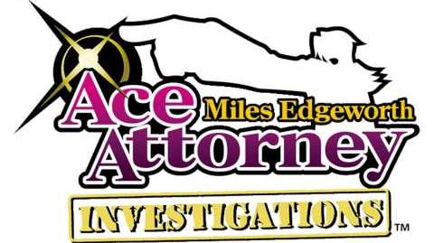 Miles Edgeworth ~ Objection! 2009 - Ace Attorney Investigations Miles Edgeworth Music Extended