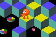 Entertainment games classic-qbert