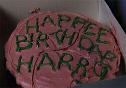 HagridBirthdayCake