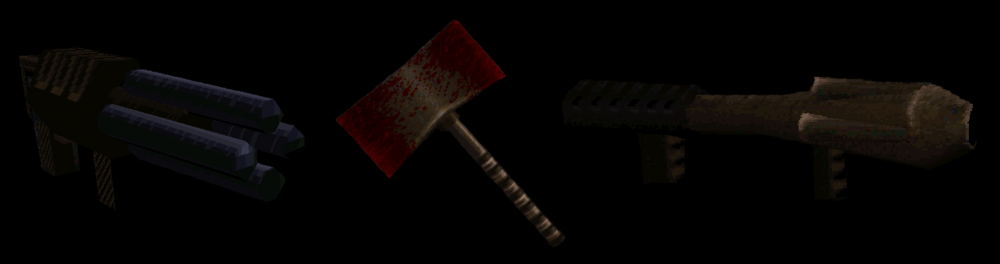 Quake 1 Weapons 2